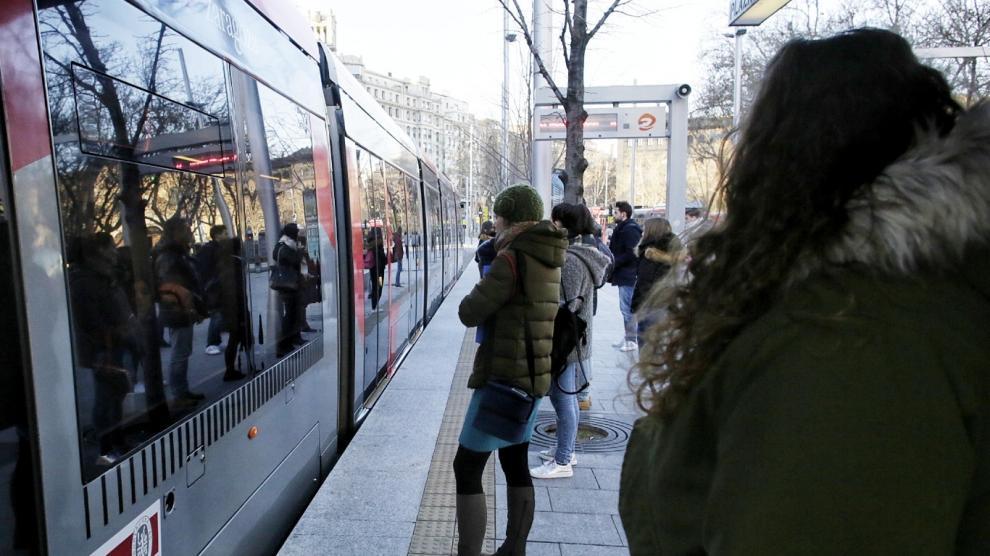 Quinta jornada de huelga en el tranvía