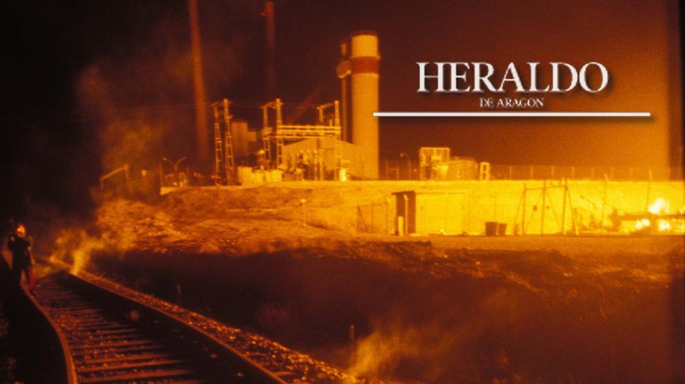 Los terroristas colocaron en la madrugada del 14 de febrero de 1992 varios artefactos explosivos de fabricación casera en la estación reductora del gasoducto de Enagás en Cuarte, en las proximidades de la capital aragonesa provocando un pavoroso incendio.