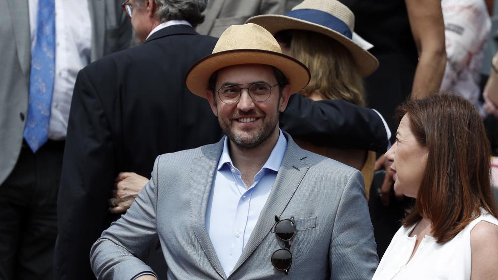 El ministro de Cultura y Deporte en Roland Garros