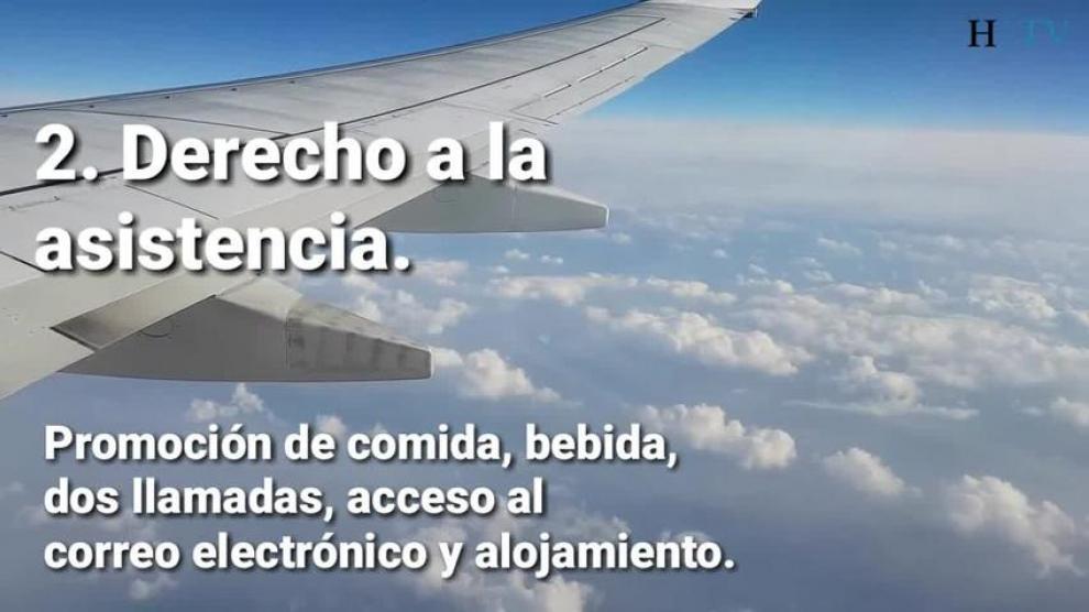 Reclamar retraso de vuelo - derechos que genera al viajero
