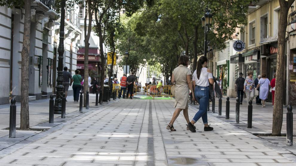Abierto a los peatones un tramo de Don Jaime