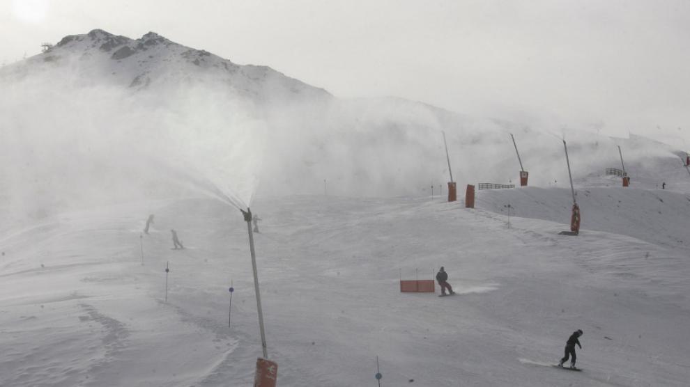 La estación de esquí de Cerler, en fotos