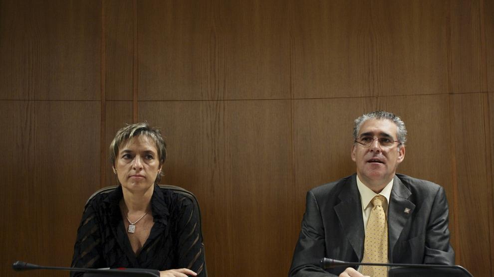 Fallece el político aragonés de CHA Chesús Bernal.
