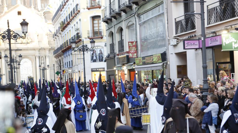 Pregón de Semana Santa en Zaragoza 2019.