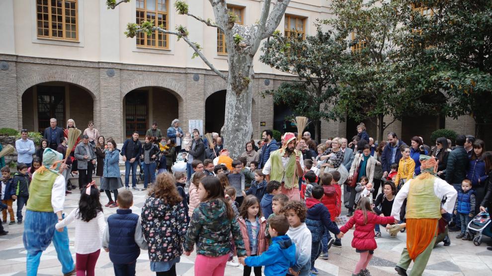 Día de Aragón: Puertas abiertas en el edificio Pignatelli