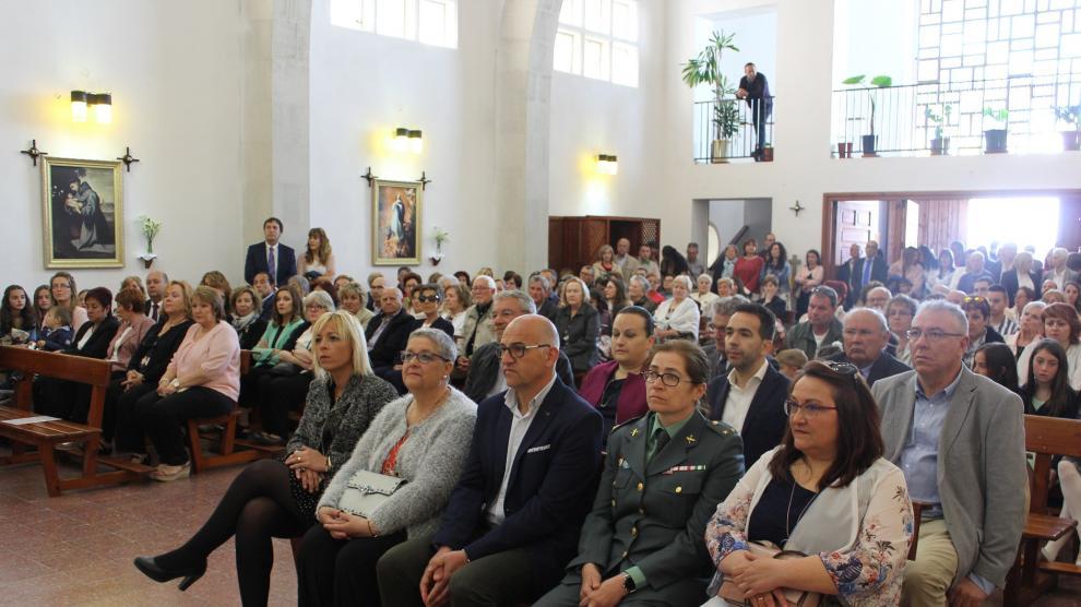 Las celebraciones han reunido este sábado a unas 750 personas.