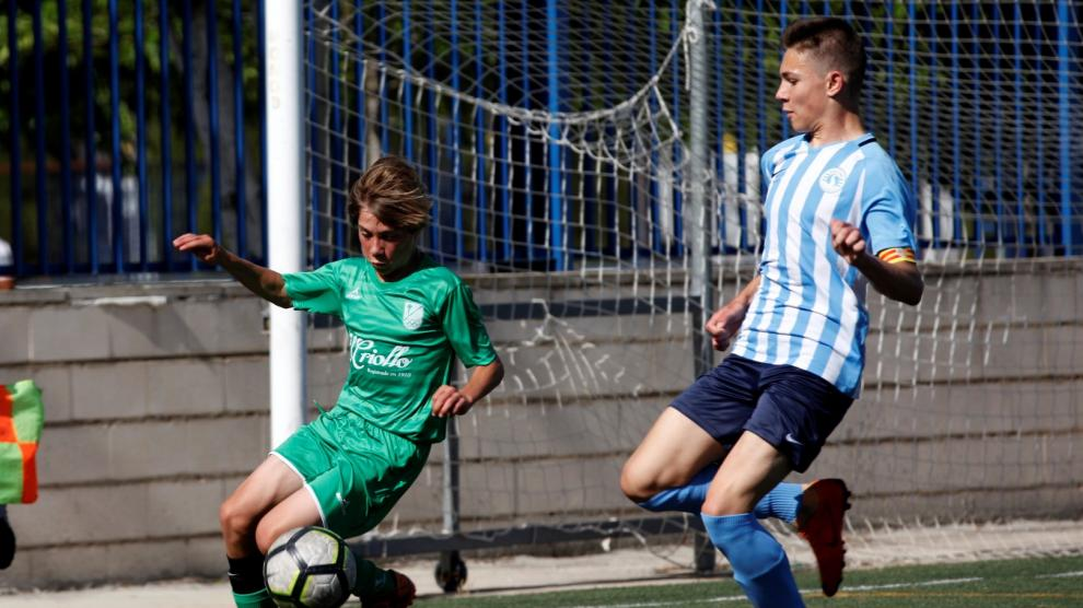 Final. 2ªCadete B. Racing Zaragoza vs. Stadium Casablanca.