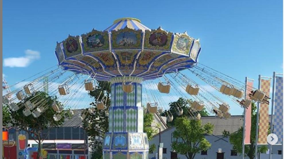 La recreación del Parque de Atracciones de Zaragoza