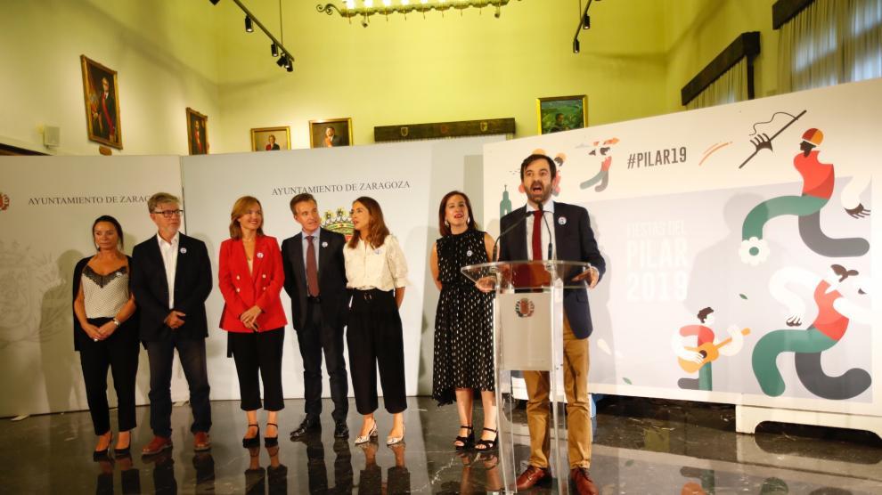 Presentación de las Fiestas del Pilar 2019