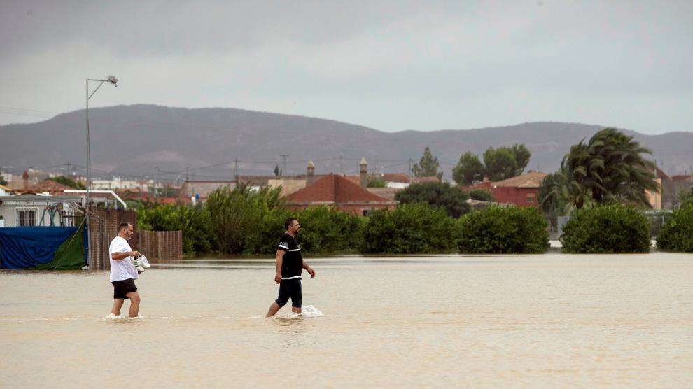 Consecuencias de la gota fría en las provincias del Levante español