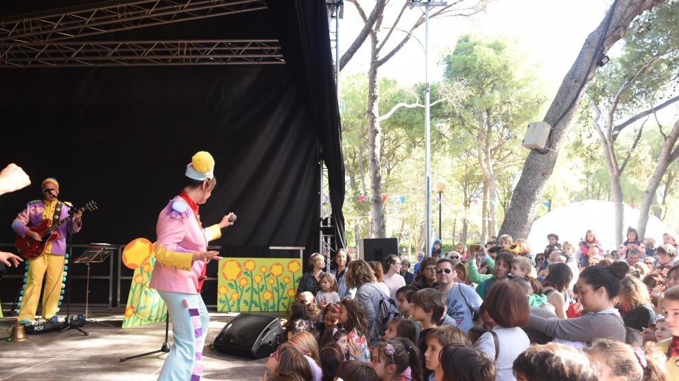 Parque de las marionetas en las Fiestas del Pilar