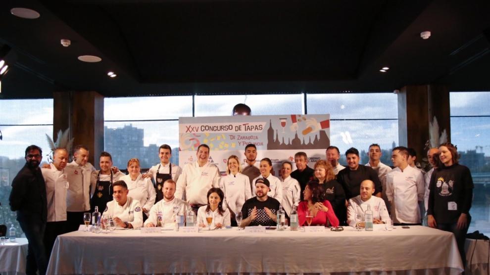 Final del Concurso de Tapas de Zaragoza y Provincia 2019