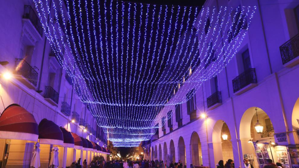 Espectacular Encendido En Huesca Que Animará La Navidad Con