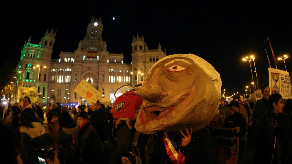 Marcha por el Clima en Madrid.