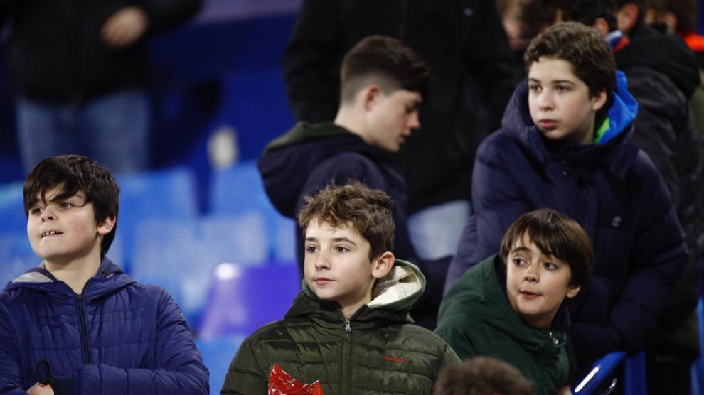 Partido Real Zaragoza-Mallorca de de Copa del Rey en La Romareda