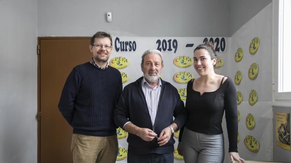 Escuela de adultos de Fuentes de Ebro.