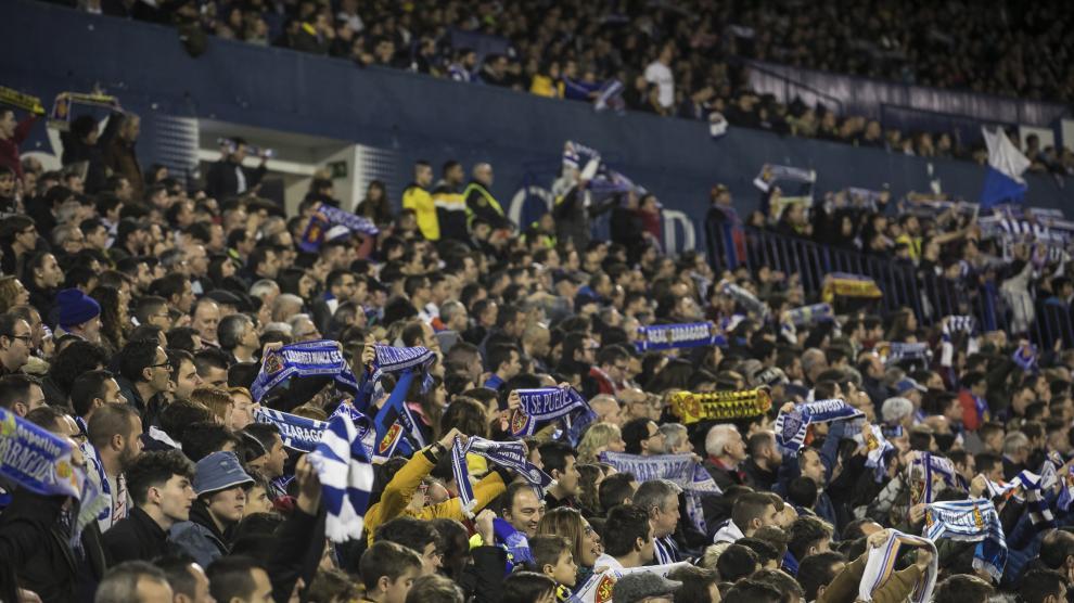 Fotos del partido Real Zaragoza-Real Madrid de la Copa del Rey