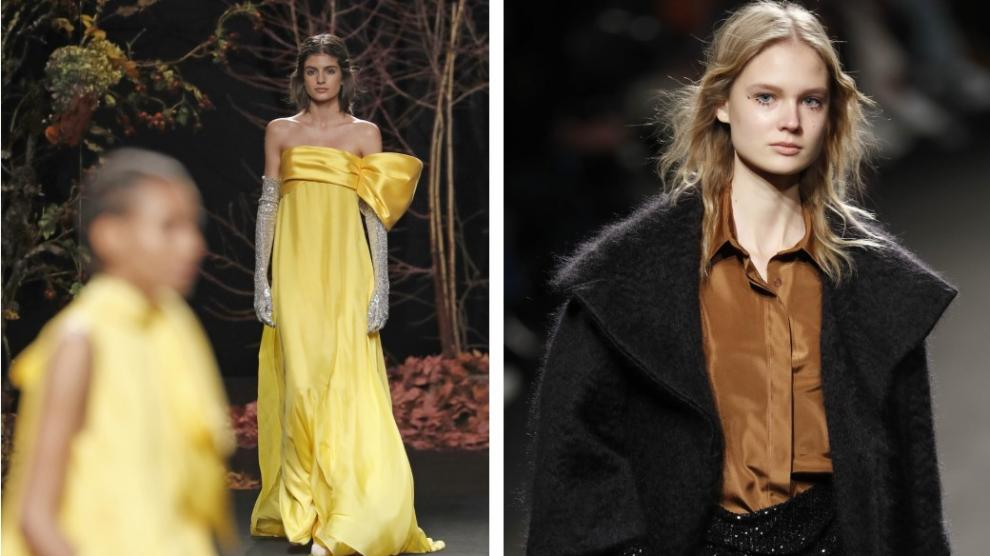 Diseños de la firma de Zaragoza The 2nd Skin Co en el Fashion Week.