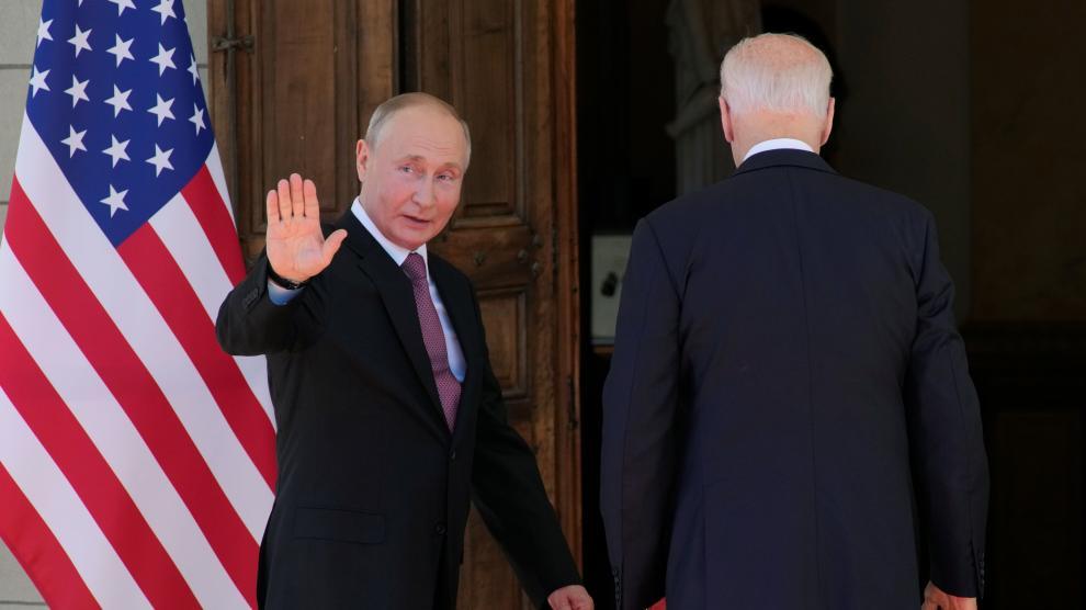 Arranca la cumbre entre Biden y Putin para luchar contra el deterioro de las relaciones