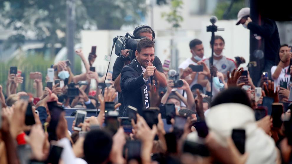 En directo   Presentación de Leo Messi, nuevo fichaje del PSG