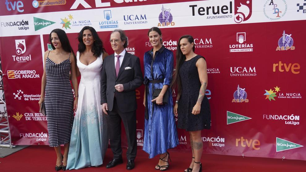 gala Nacional del deporte celebrada en Teruel. foto Antonio Garcia/bykofoto. 20/09/21[[[FOTOGRAFOS]]]