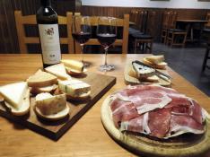 El 'Cheese away' del bar Estudios de Zaragoza.