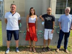De izquierda a derecha, Vicente Arnau, María Cebriá, José Manuel Cuevas y Wladimiro Díaz.
