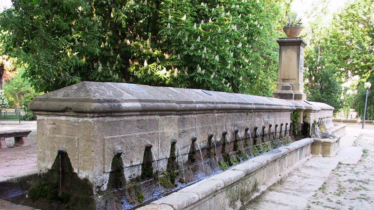 La Fuente de los 72 Caños de Alcañiz, restaurada