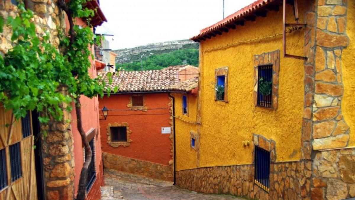 Pueblos De Teruel Mapa De Quemas En Aragon.10 De Los Pueblos Mas Bonitos De Espana Estan En Aragon