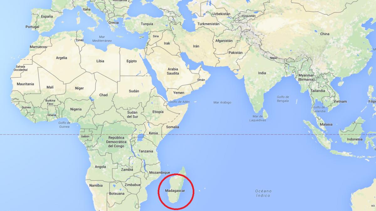 Isla De Madagascar Mapa.Averiguan Por Que Los Habitantes De Madagascar Hablan Una