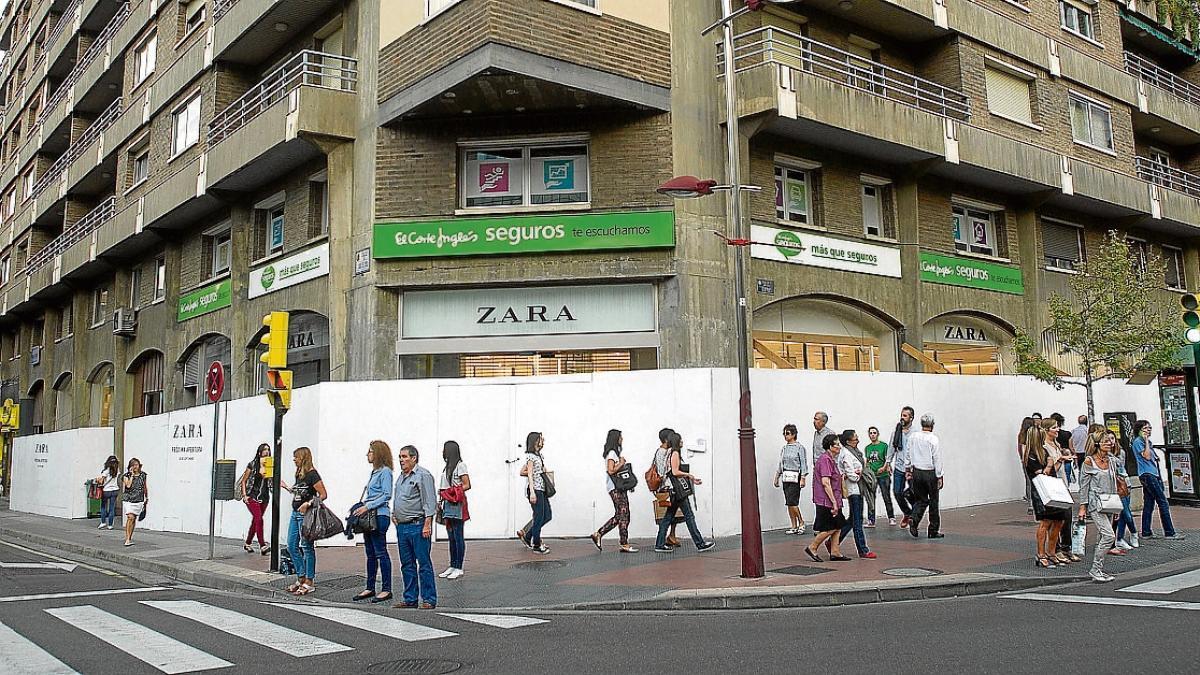 a3c66fa464ca6 Zara abre el viernes su macrotienda de Damas