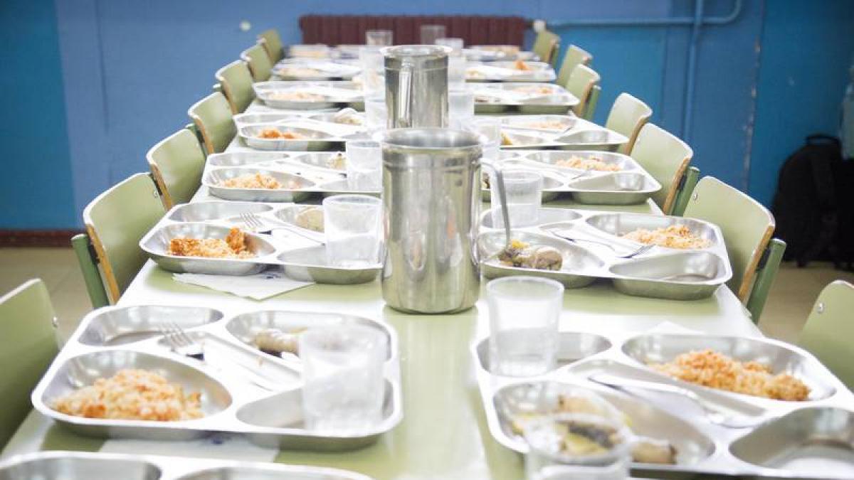 Los menús escolares de unos veinte colegios zaragozanos se cocinan ...