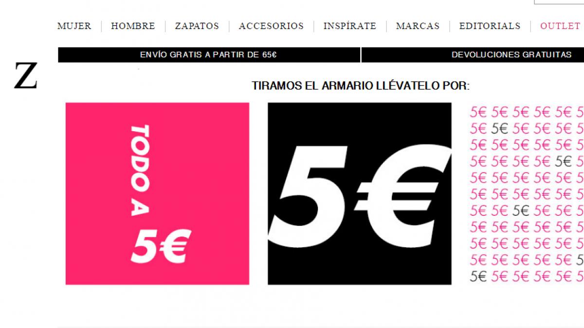Toda La Ropa De El Armario De La Tele A 5 Euros Noticias De