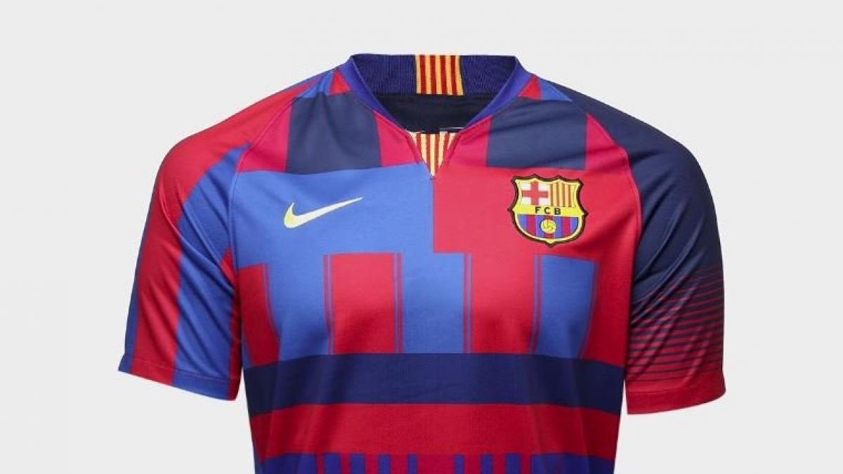 900f224dfdd40 Nike lanza una camiseta de colección para conmemorar sus 20 años con el  Barça
