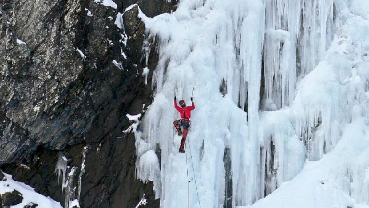 Escalada en hielo: en el congelador de los Pirineos