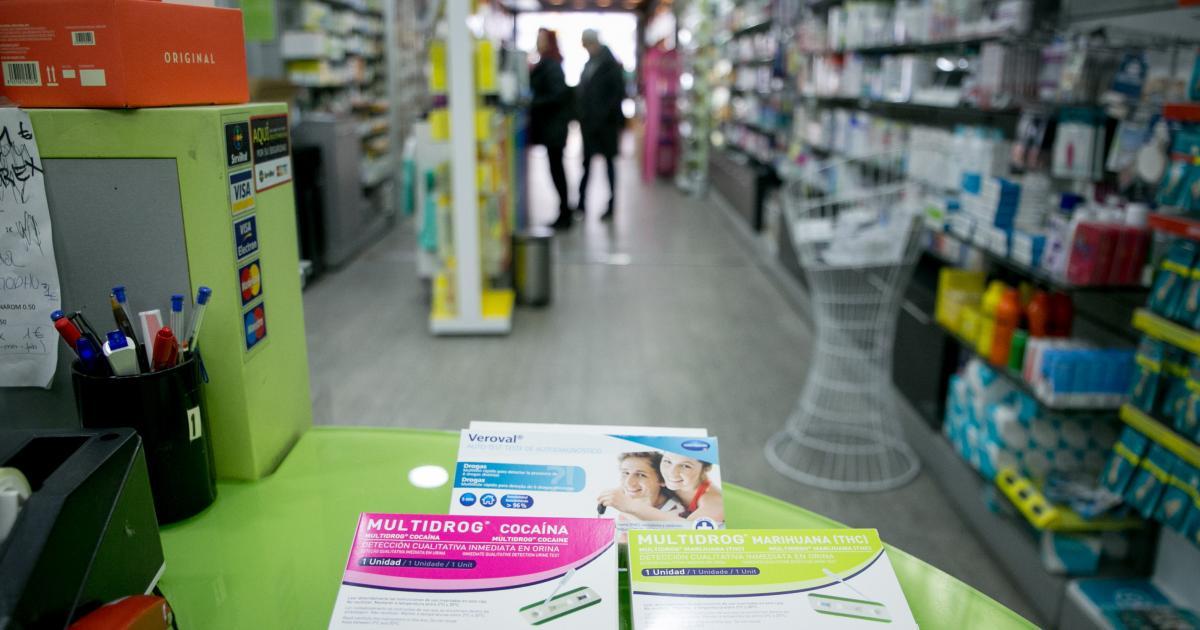 test de drogas linear unit pis de cesión linear unit farmacias