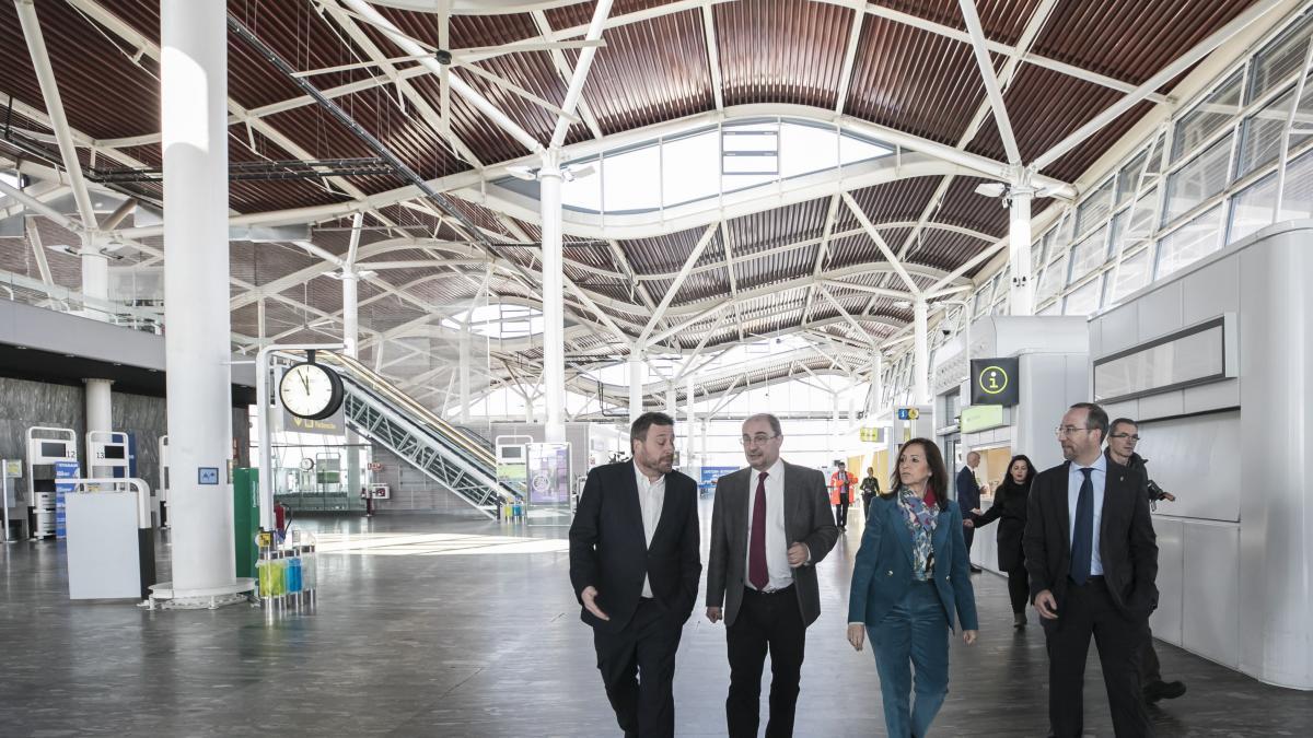 La DGA intentará atraer al aeropuerto a las grandes empresas de comercio electrónico