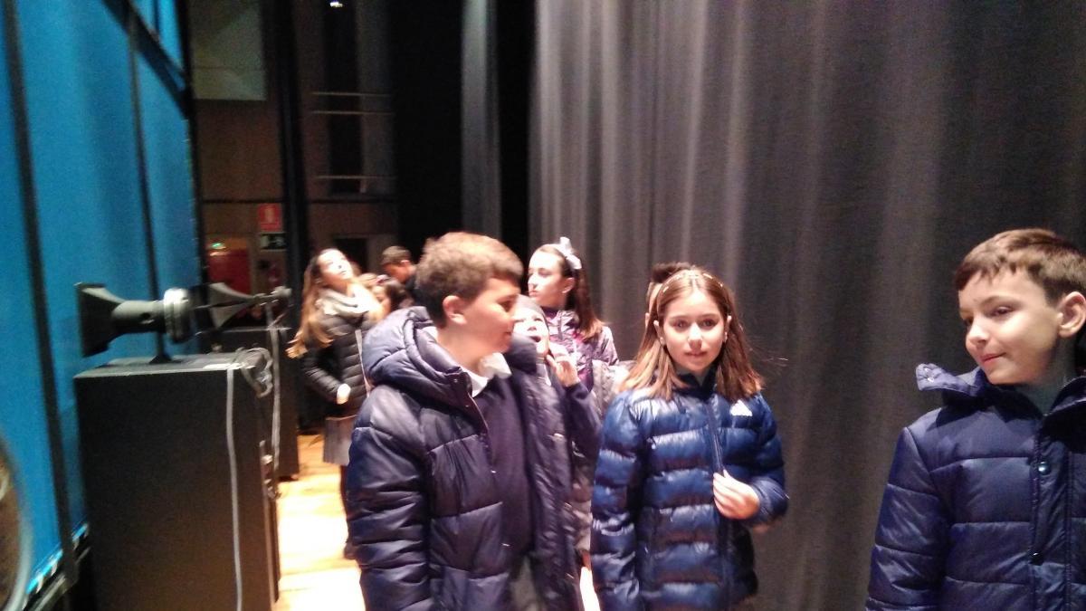 El teatro Bellas Artes, protagonista de cuentos y poesías de los escolares de Tarazona