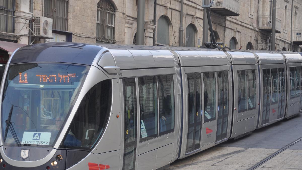 CAF y la constructora israelí Shapir se adjudican el proyecto del tranvía de Jerusalén, valorado en 1.800 millones