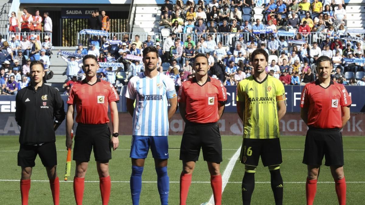 Horario y dónde ver el Real Zaragoza-Málaga 3