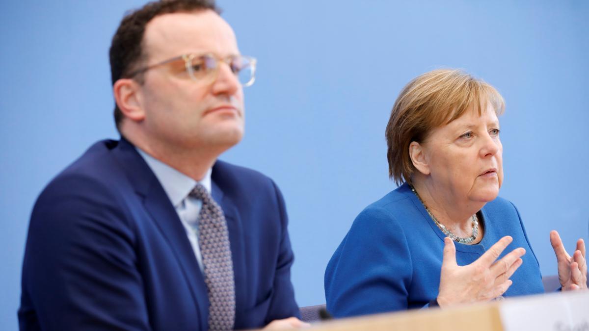 """Coronavirus en el mundo: Merkel, dispuesta a abandonar el """"déficit cero""""  para afrontar el coronavirus"""