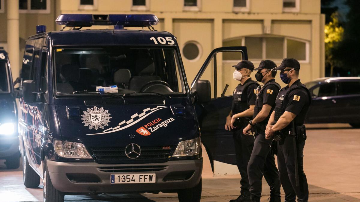 Detenido el hombre que dio una paliza a un policía en un autobús de Zaragoza