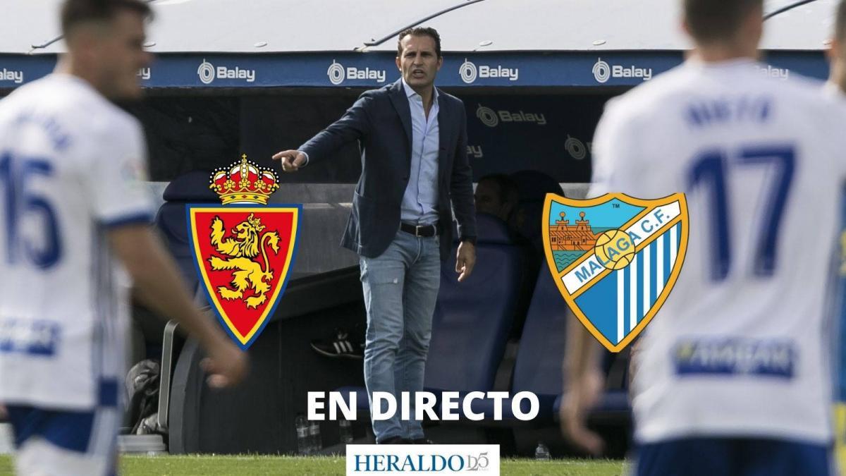 En directo: Nieto, única cara nueva en el once inicial del Real Zaragoza ante el Málaga 1