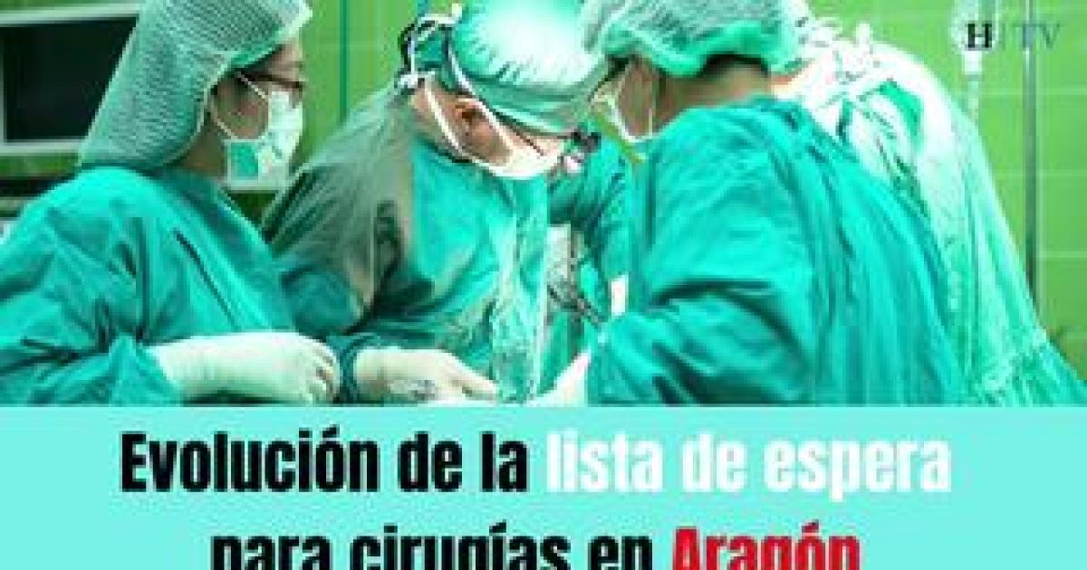 Así se encuentra la lista de espera para cirugías en Aragón en plena ola de contagios