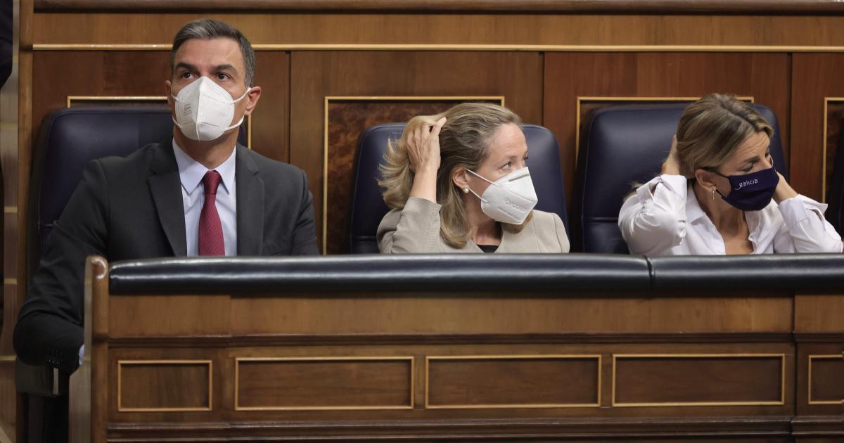 """Yolanda Díaz admite que el Gobierno de coalición vive un momento """"complicado"""""""