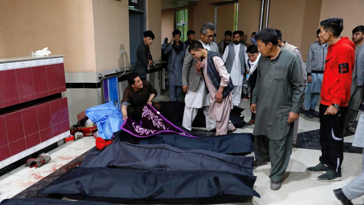 Al menos 13 muertos en un atentado contra un centro educativo en  KabulAFGANISTAN ATENTADO (Ampliación)