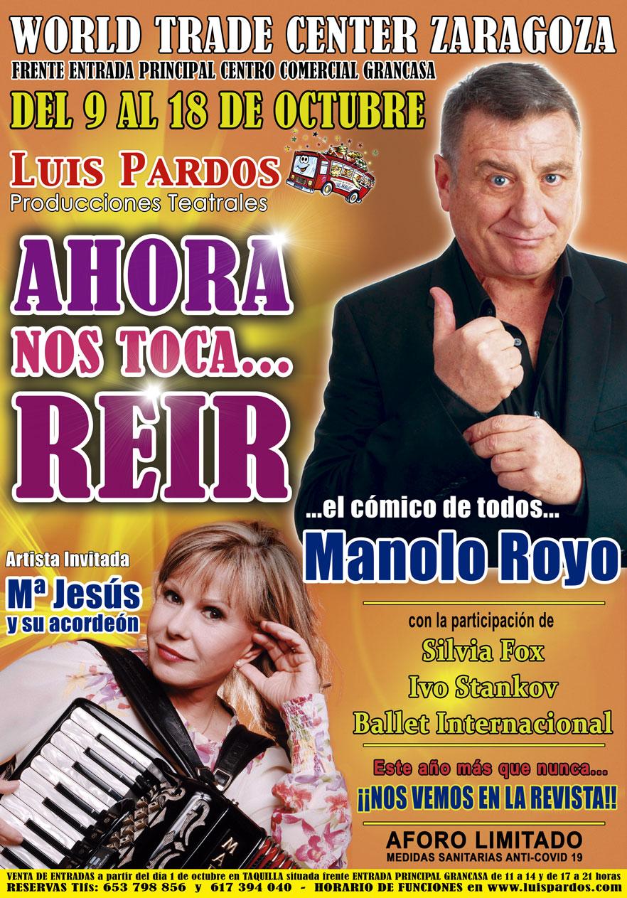 Cartel Luis Pardos 2020