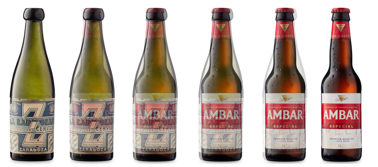 Botellas Ambar 1898-2020